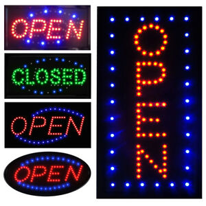 Ultra-Bright-LED-Neon-Light-Business-Sign-Animated-Motion-Display-Open-w-ON-OFF