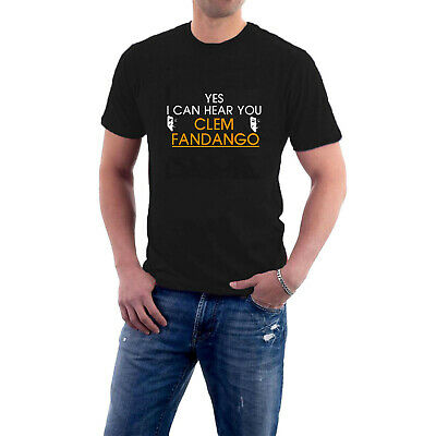 6 colours Yes I Can Hear You Clem Fandango T-Shirt Inspired by Toast TV