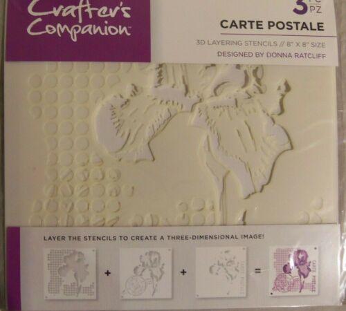 Crafters Companion 3D capas de diseño de la plantilla para elegir