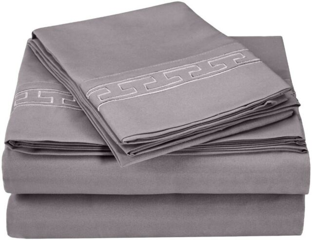 Heritage 3000 Series Regal Lace Embroidery Sheet Set by Superior