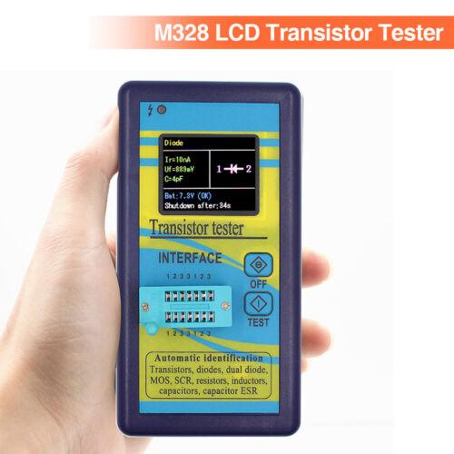 M328 Color Display Transistor Tester Diode Resistor Inductance Meter LCR Meter