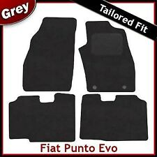 Fiat Punto Evo (2010 2011 2012) Tailored Fitted Carpet Car Mats GREY
