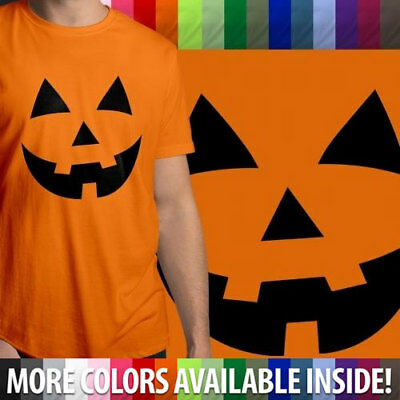 Orange Tuxedo T Shirt with Halloween Pumpkin