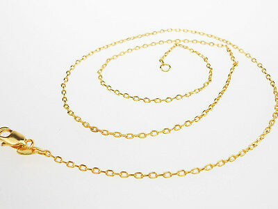 """Wholesale 5pcs Gift Jewelry 18K Yellow Gold Filled Snake Chains//Necklaces 16-30/"""""""