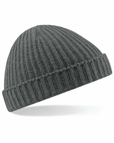 Homme chalutier bonnet laine côtelée à revers Fisherman Beanie Chapeaux