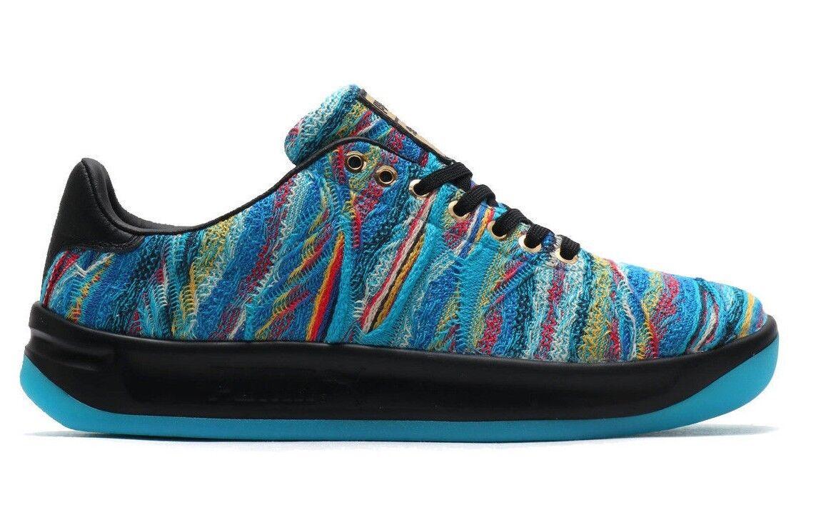 Puma Men's COOGI X PUMA CALIFORNIA MULTI shoes bluee Atoll Puma Black 367973-01 c
