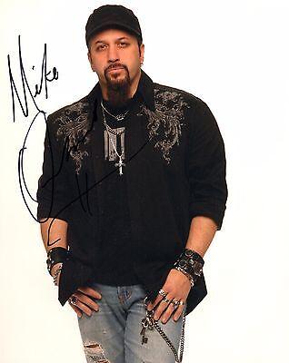 Signed Autograph 8x10 Photo Ad1 Coa Handsome Appearance Gfa Adrenaline Mob Mike Orlando
