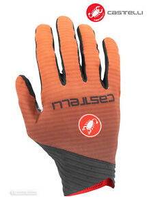 Castelli-CW-6-1-CROSS-Cyclocross-MTB-Road-Cycling-Winter-Gloves-ORANGE