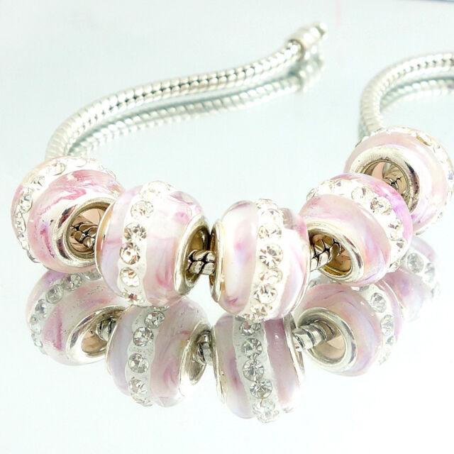 Lampwork European Charm Bead Collection Charm bracelet beads bracelets for women