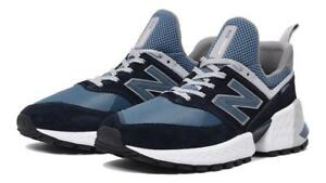 watch 1f61f 90e8f Details about NEW BALANCE 574 SPORT MS574EDC DARK NAVY/AGEAN  BLUE/WHITE/GREY - CHUNKY SOLE
