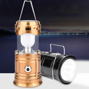 Portable-Outdoor-Solar-Rechargeable-Camping-Lantern-Light-LED-Hand-Lamp-1PCS
