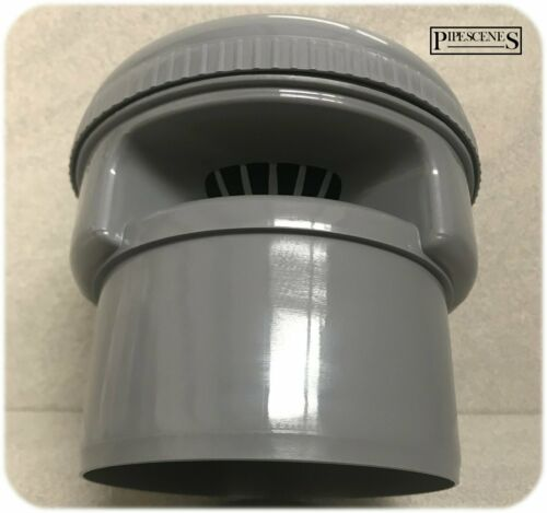 110mm Anti-Syphon Air Admittance Valve Internal Grey for 110mm Soil Pipe Socket