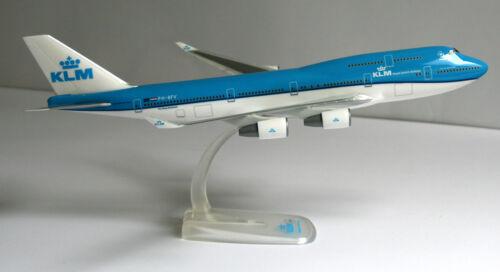 1:250 Herpa Snap-Fit 611442 b747 KLM Royal Dutch Airlines-Boeing 747-400