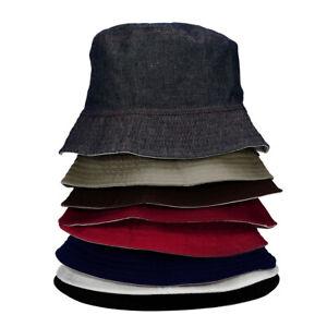 Folding-Bucket-Hat-Men-Women-Fisherman-Sun-Cap-Spring-Summer-Solid-Color-Fashion