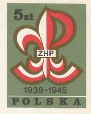 POLAND 1983 **MNH Postcard Cp#844 Monument, the scouts, who died in World War II