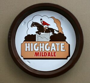 HIGHGATE-MILD-ALE-Pub-Beer-Advertising-tray-Retro
