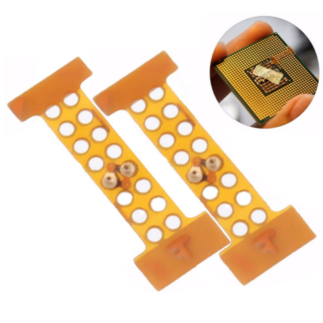 LGA 771 to 775 Adapter Sticker CPU XEON Mod Quad Dual Core Pin Modification Pop