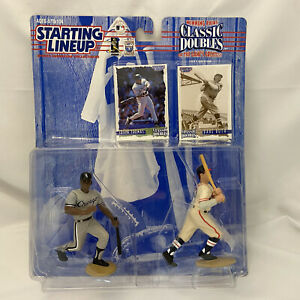1997 Starting Lineup Classic Doubles Frank Thomas & Babe Ruth Figures/Cards NIP!