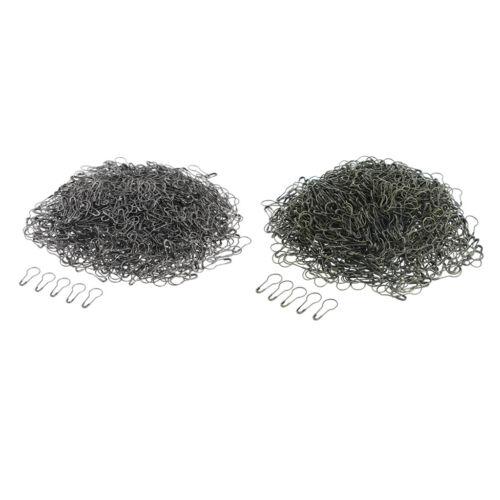 1000 piezas de metal Guacales Forma Calabaza Pera Bombilla Pin Pasador De Seguridad