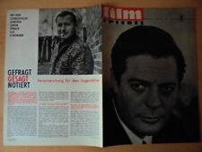 FILMSPIEGEL 14/1966 * M.Mastroianni DEFA DER SCHWARZE PANTHER Ostsee '66 G.Simon