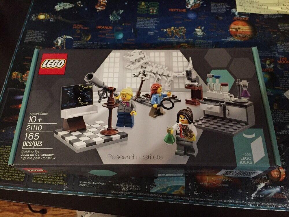 LEGO Cuusoo Research Institute - 21110 - Mint in Sealed Box