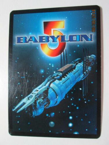 THE SHADOWS EXPANSION 1998 BABYLON 5 CCG RARE CARDS PICK TWO