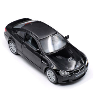 BMW-M3-Coupe-1-36-Model-Cars-Toys-Open-two-doors-Collection-Black-Alloy-Diecast