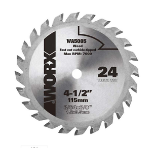 Wa5085 worx 4 12 worxsaw circular saw replacement blade image is loading wa5085 worx 4 1 2 034 worxsaw circular greentooth Images