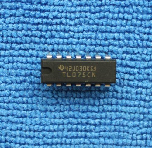 5pcs TL075CN Quad General Purpose Op Amp DIP