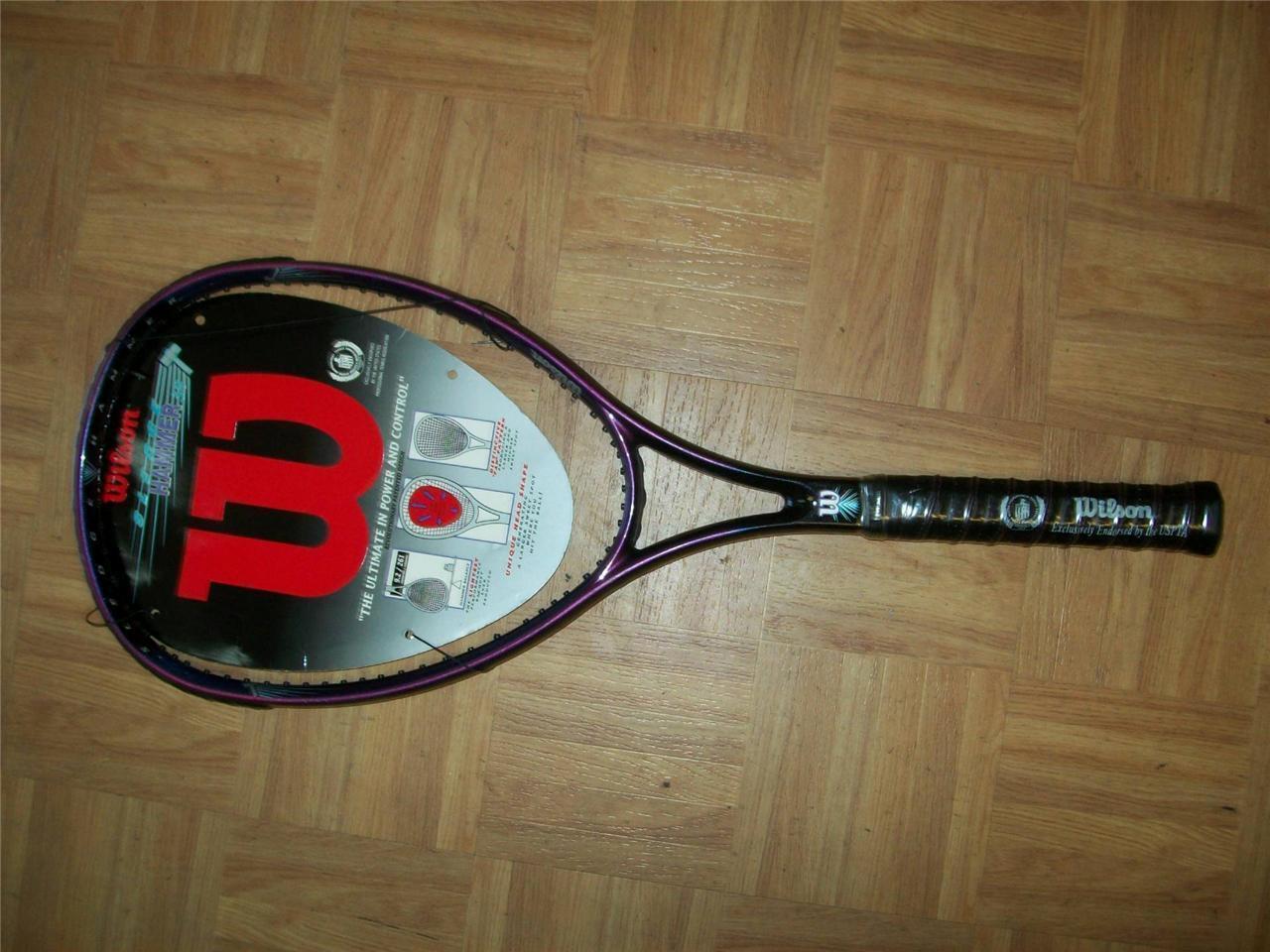 NEW Rare Wilson Sledge Hammer 3.8 Midplus 95 4 5 8 grip Tennis Racquet
