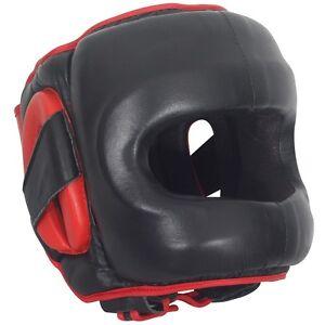 Ringside Full Face Saver MMA Boxing Sparring Headgear Head Gear L//XL Black