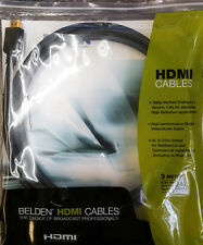 Belden HD2003 3 Meter/9.84 FT. High Performance HDMI Cables