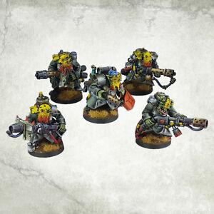 Ork War2 Brenner Trupp Orc Incinerator Team (5) Kromlech