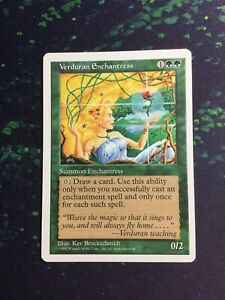 Verduran Enchantress Collectors Edition Int NM ABUGames