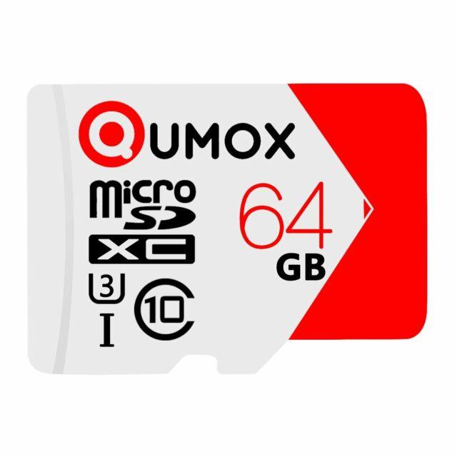 QUMOX 64GB Extreme MICRO SD SDXC MEMORY CARD CLASS 10 UHS-I