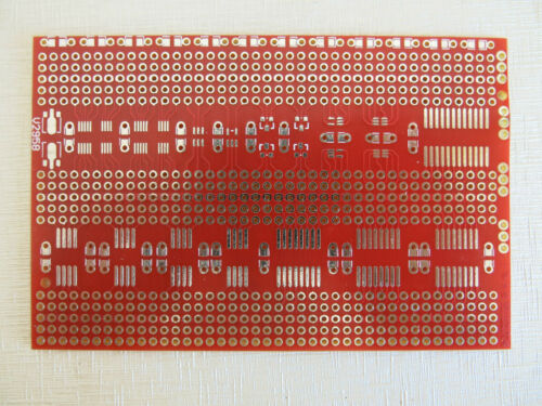 3Stk 7x11cm Adapterplatte Lochraster Streifenraster Platine Leiterplatte pcb SMD
