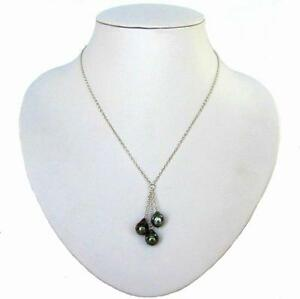 17-034-9-10mm-Tahitian-Black-Pearl-Silver-Triple-Dangle-Necklace