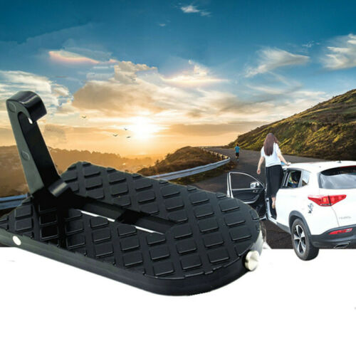 Car Doorstep Folding Ladder Door Pedal Foot Pegs Easy Access Rooftop Pedal Tool