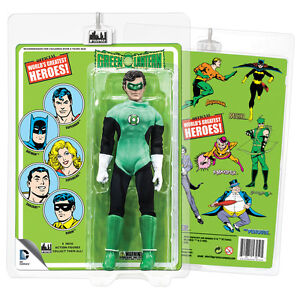 Official-DC-Comics-Green-Lantern-8-Inch-Action-Figure-w-Retro-Style-Retro-Card