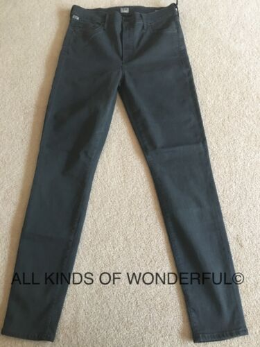 Grey RRP£190 BNWT Citizens of Humanity Rocket High Rise Skinny in Presido