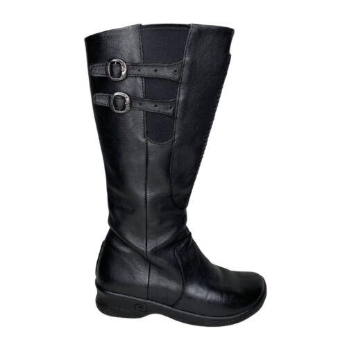 Keen Bern Baby Bern Tall Boots Black Leather Water