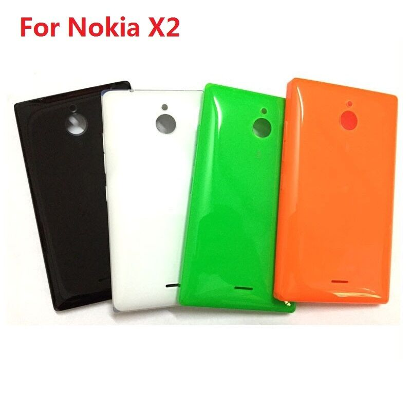 low priced f0069 282be Back Rear Battery Cover for Nokia X2 X2DS Dual SIM RM-1013 with Side Button