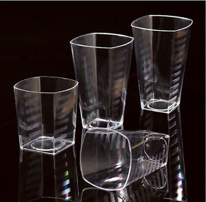 Disposable Glasses That Look Like Crystal Drinking Glasses