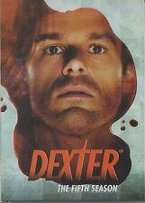 DEXTER - Series 5. Michael C Hall, Jennifer Carpenter (4xDVD BOX SET 2011)