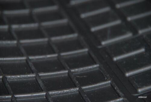 Gummifußmatten Honda Jazz III Bj 2008-2013  Passform Fußmatten schwarz