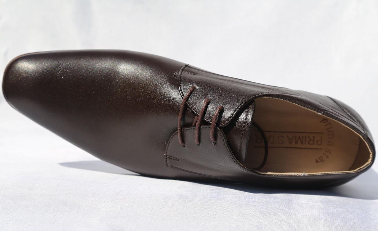 Homme / femme CHAUSSURE RICHELIEU HOMME métier CUIR MARRON Excellent métier HOMME Touche confortable Chaussures légères f08f25