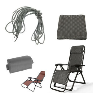 Sets of 2 Laces Ropes for Recliner Folding Sling Chair Non-gravity Chairs
