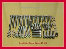 Suzuki Savage LS650 / LS 650 - V2A Schrauben Edelstahl Schraubensatz Motor