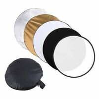 80cm 5in1 Photography Photo Reflector Light Mulit Collapsible Disc Reflector 32""
