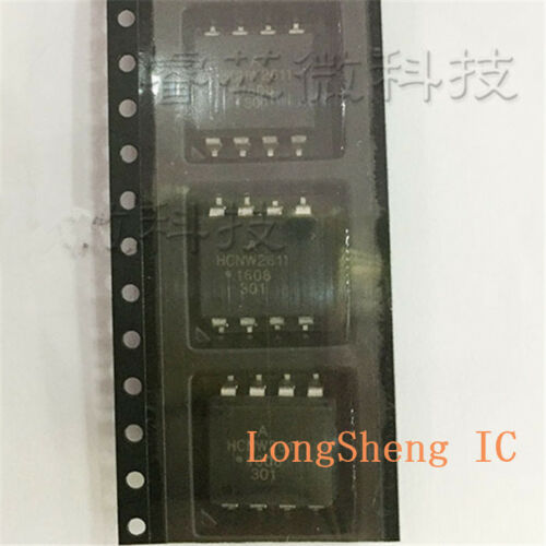 High Speed TTL Compatible Optocouplers 5PCS HCNW2611 SOP High CMR